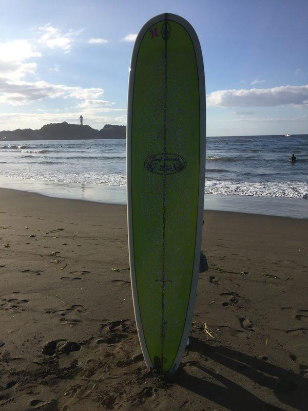 サーフィンを